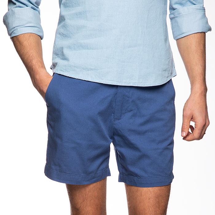 Shorts, Vintage Blue