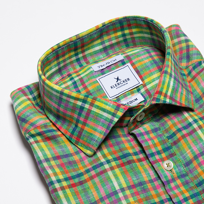 JB Cut Shirt, Green Multi