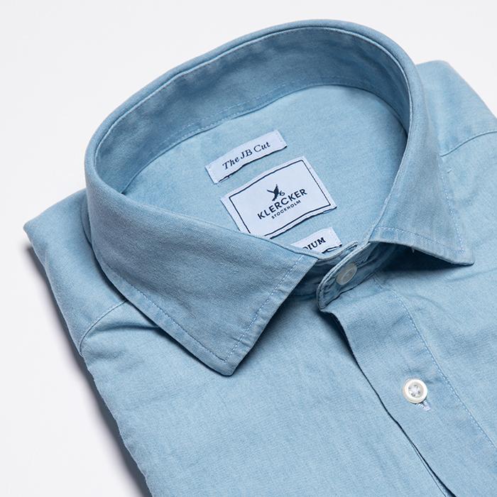 JB Cut Shirt, Vintage Wash Chambray
