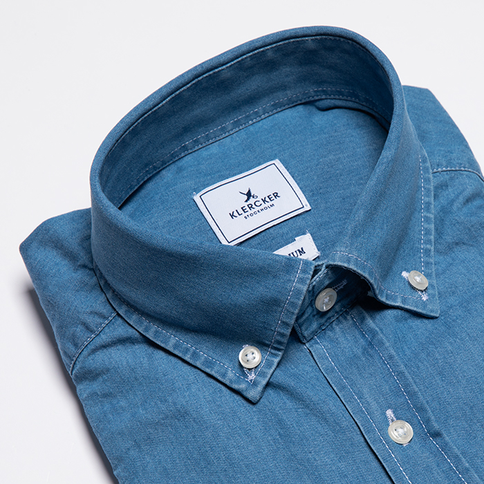 Button Down, Denim Chambray