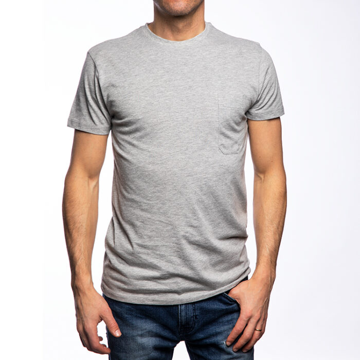 T-Shirt, Grey Melange