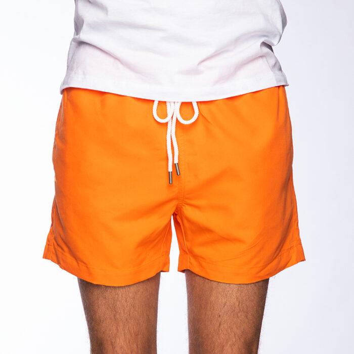 Swim shorts, Orange
